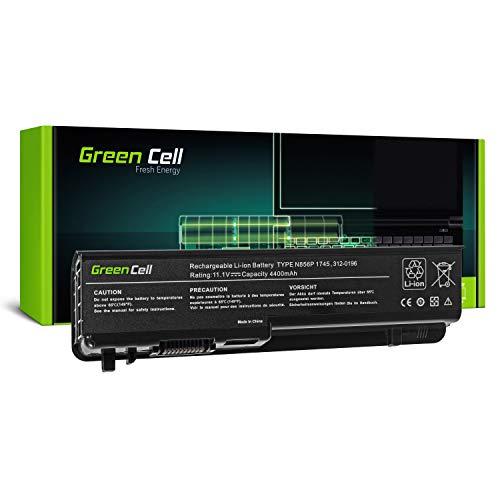 Green Cell Batería para portátil DELL Studio 17, 1745, 1747 y 1749 (6 Celdas, 4400 mAh, 11,1 V), Color Negro