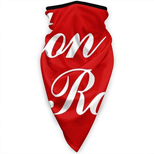 WlQshop Calentadores de Cuello Outdoor Mascarilla Flag of Baton Rouge Sun Dust Protection Neck Gaiter