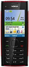 Nokia X2 (X2-00) RED ON BLACK Unlocked Phone