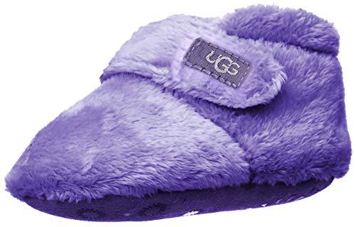 UGG Baby Bixbee Ankle Boot, Violet Bloom, 04/05 M US Infant