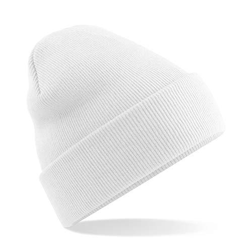 Beechfield Bonnet Unisexe B045 Taille Unique Blanc