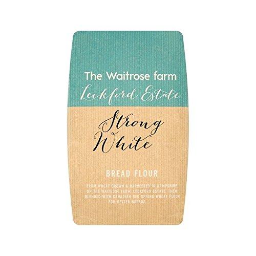 Leckford Forte Pane Bianco Di Farina Waitrose 1.5Kg - Confezione da 4