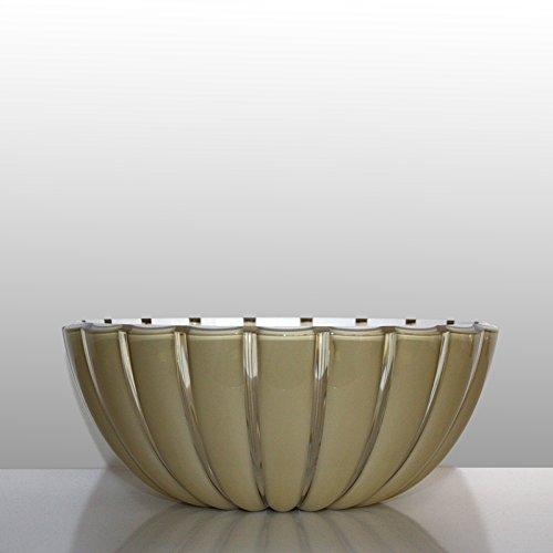 guzzini Schale GRACE gold-weiß, D ca. 25 cm