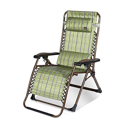 FUFU Patio Lounge Chairs Oversized Zero Gravity Chair XL Patio Recliners Folding Chair with Cup Holder and Adjustable Headrest Zero Gravity lounger Extra Wide Chaise Lounge for Outdoor Yard Poolside,