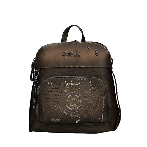 Anekke | Preciosa mochila con bolsillo frontal | Moderna, Casual y a la Moda | Para Mujeres | Ideal para el Día a Día u Ocasiones Especiales