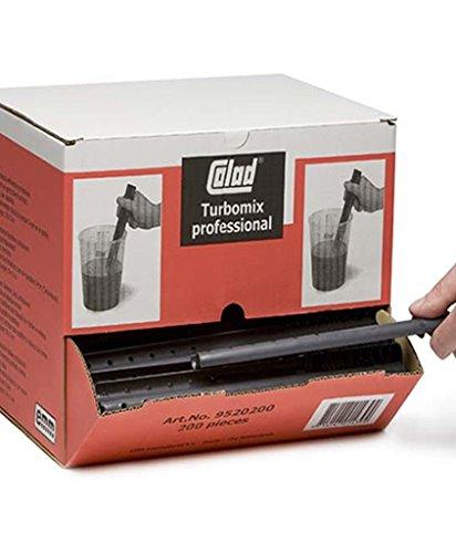 COLAD Turbomix Rührstäbe/Farbrührer 30x3cm / 200 Stück in Dispenserkarton