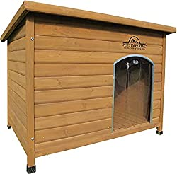 Pets Imperial Extra Large Insulated Wooden Norfolk Dog Kennel With Removable Floor For Easy Cleaning