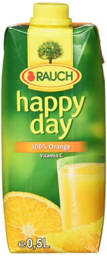 Rauch Happy Day, 12er Pack (12 x 500 ml), Orange