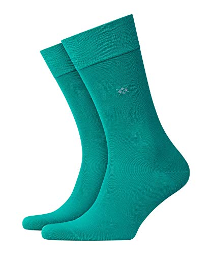 Burlington Herren Dublin M SO Socken, Blickdicht, Grün (Patina 7510), 40-46 (UK 6.5-11 Ι US 7.5-12)