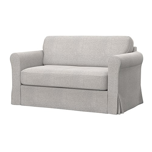 Soferia Replacement Cover for IKEA HAGALUND Sofa-Bed, Fabric Naturel Beige
