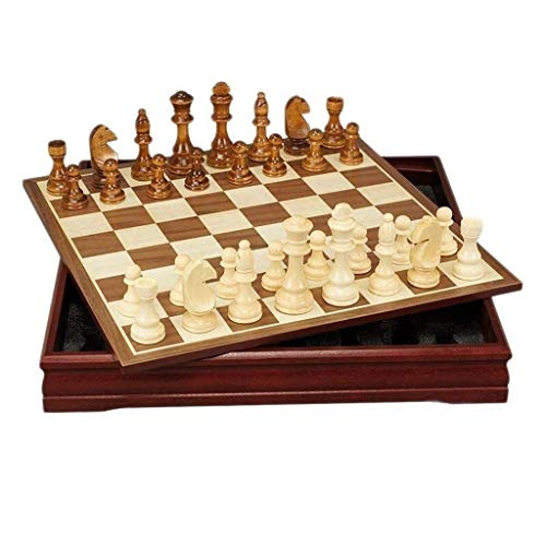Chess set Game travel adults kids board Chess e Folding Wooden International Chess Set Pieces Set Board e e Chessmen Collection Portable Board e Toys Chess Set for Chi