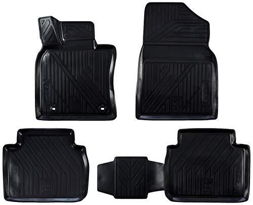 Element EXP.ELEMENT3D048152210k Passgenaue Premium Antirutsch Gummi Fußmatten-Toyota Camry-Jahr: 18-20, schwarz