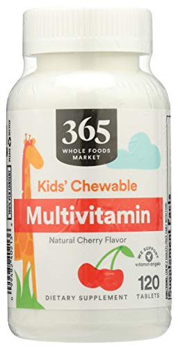 365 by Whole Foods Market, Kid's Vitamins, Multivitamin - Chewable, 120 Count