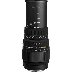 Sigma 70-300mm f/4-5.6 SLD DG Macro Lens Bundles (w/ 32GB Photo Bundle)