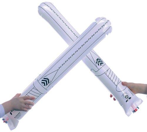 Susy Card 11138542 gonflable Knight épées Plastique Lot de 2