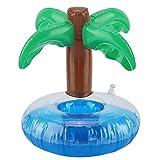 Nimomo Porte-gobelet à Boissons Porte-gobelet Flottant Gonflable en cocotier pour Piscine Beach Party