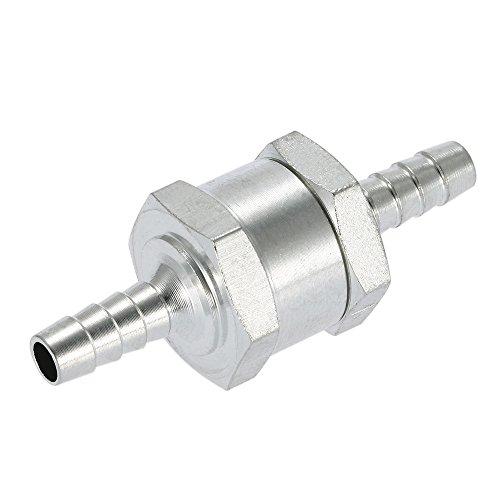 KKmoon 6mm Ventil Kraftstoff Rückschlagventil Benzin Diesel für Vergaser Niederdruck Ruel Systeme