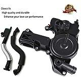 Oil Separator PCV Valve Assembly 06H 103 495 Breather Hose Kit For AUDI TT A4 Q5 VW Golf G...