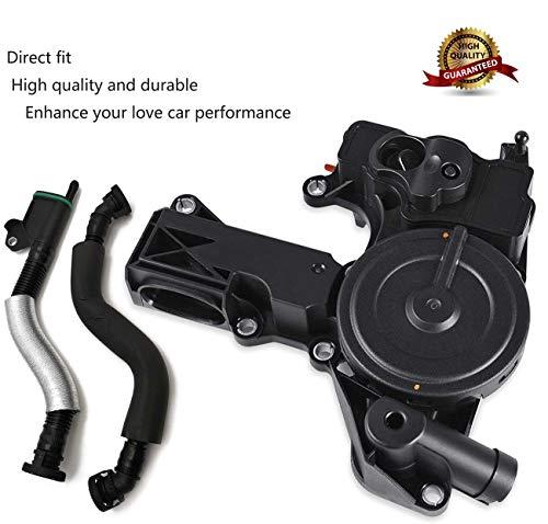 Oil Separator PCV Valve Assembly 06H 103 495 Breather Hose Kit For AUDI TT A4 Q5 VW Golf GTI Jetta 1.8 2.0TSI 06H 103 495 A 06H103495AH