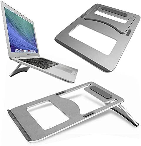 GUPi Soporte de aluminio portátil plegable de refrigeración portátil portátil para Apple MacBook Pro [13 pulgadas Pro A2338 (M1, barra táctil) - (2020)
