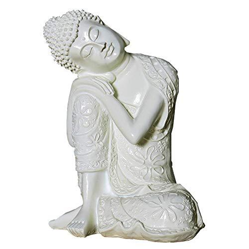 J.Mmiyi Buda Estatua Figura Zen Sentado Meditación
