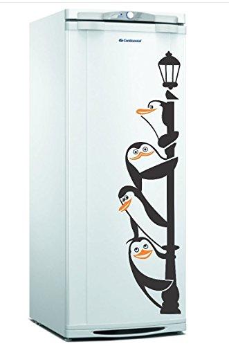 Adesivo Geladeira Pinguim Gigante Decorativo Cozinha