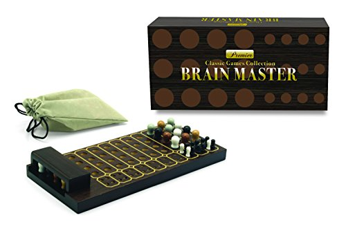 New Entertainment Premier Brain Master Classic Board Game