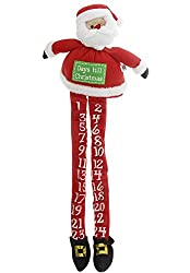 This cute little Christmas Santa holds tiny pockets that can be used to store small gifts throughout your Christmas Countdown.