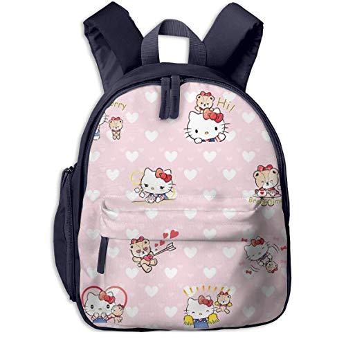 yusanbaihuodian Hi Hello Kitty - Mochilas escolares para niñas y niños