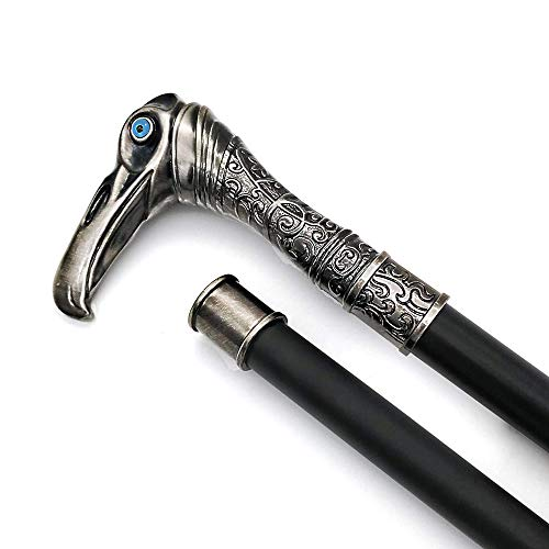 ● This is a Cane made of stainless steel. It can also be used as an outdoor Walking Stick. ●The pattern is exquisite, the hand feels comfortable, and the overall height is ergonomic. ● It is constructed as a segmented connection. For easy transportat...