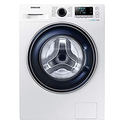 Samsung WW80J5555FA Freestanding Washing Machine withEcobubble, 8 kg Load, 1400 rpm Spin, White