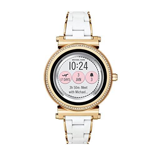 Michael Kors Reloj Analogico para Unisex de Cuarzo con Correa en Acero Inoxidable MKT5039