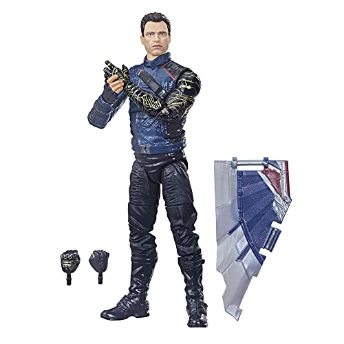 Marvel Avengers Hasbro Marvel Legends Series Avengers 6-inch Action Figure Toy Winter Soldier, Premium Design And 2 Accessories, For Kids Age 4 and Up multicolor F0325