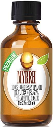 Myrrh Essential Oil - 100% Pure in Jojoba (40%/60% Ratio) Best T