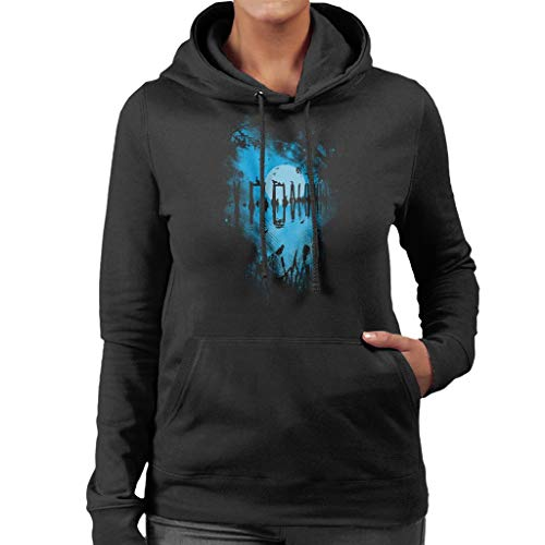 Reflectie Moonlit Lake vrouwen Hooded Sweatshirt