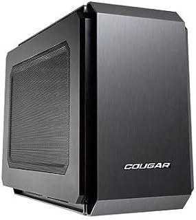 Cougar Qbx Pro Mini Itx - Carcasa de Ordenador para jugado, sin Fuente de alimentación, USB 3.0, hasta 7Ventiladores, Requiere Tarjetas Gx (QBX) de 350mm ODD con Ranura de Carga