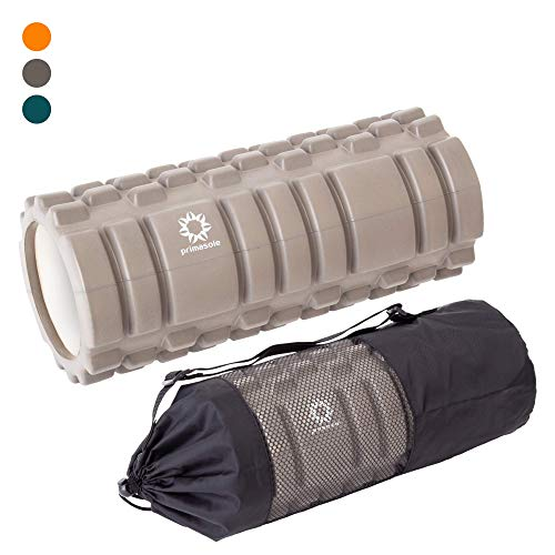 Sale!! Primasole 【Amazon.com Limited Brand】 Body Tech Foam Roller (Earth Brown Color) Fascial Re...