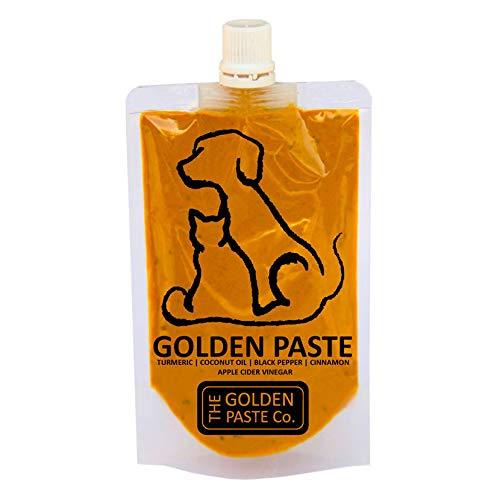 The Golden Paste Company for Dogs Anti Inflammatory and Aids in Joint Health, Turmeric with Apple Cider Vinegar & Ceylon Cinnamon - 200g