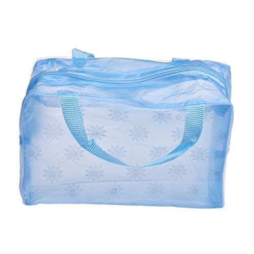 Bolso de Cosméticos Cosmético Portable del Maquillaje de Gran Capacidad Transparente Higiene...