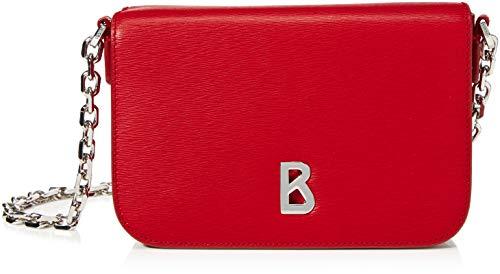 Bogner Damen Zürs Irene Shoulderbag Xshf Schultertasche, Rot (Red), 5.5x12x20 cm