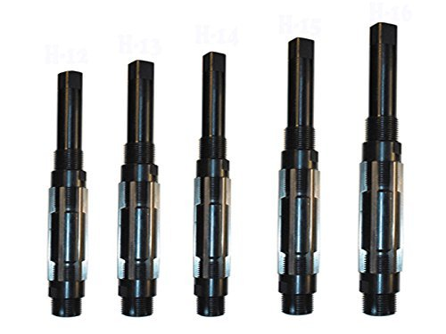 CNBTR HSS Square End Adjustable Hand Reamer Metal Hole Cutting Tool Adjustment Range 19-21mm Replacing Parts