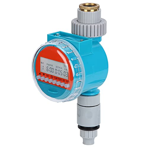 CjnJX-Vases Regolatore dell'Acqua Timer per irrigazione Timer elettronico da 1,2 Pollici Regolatore Automatico per irrigazione Impermeabile per Serra da Giardino