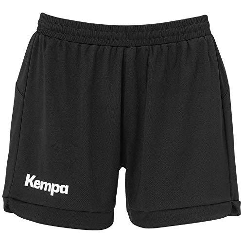 Kempa Damen Prime Shorts Women Traingsbekleidung, Schwarz, S