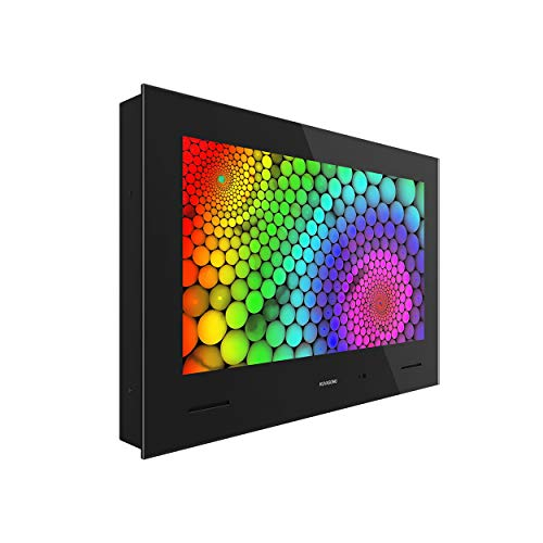 KUVASONG KVS215 22 Inch Full HD Smart Waterproof Bathroom TV with Freeview, DVB-T2S2, HDMIx2, RJ45, WIFI, CI+Slot, optical out, RS232, USBx2