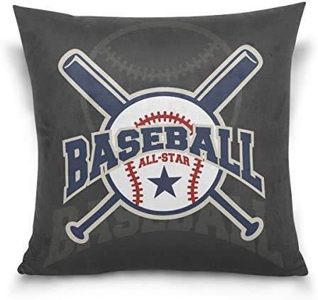 IUBBKI Blue Viper Baseball Fondo Diseño Decorativo Cuadrado Funda de Almohada Funda de cojín para sofá Dormitorio Coche Doub