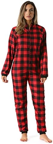 Just Love Printed Flannel Adult Onesie Pajamas 95813 45 S product image