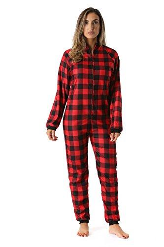 Just Love Printed Flannel Adult Onesie Pajamas 95813-45-M
