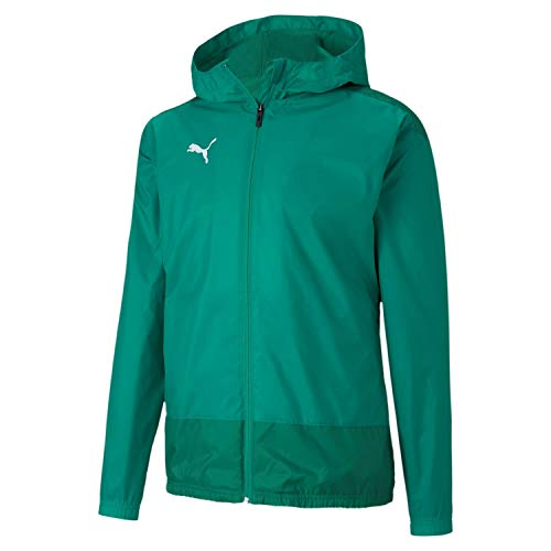 PUMA Herren teamGOAL 23 Training Rain Jacket Regenjacke, Pepper Green-Power Green, L