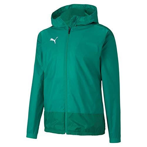 PUMA Herren teamGOAL 23 Training Rain Jacket Trainingsjacke, Pepper Green-Power Green, L
