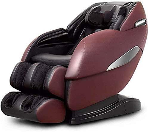 PIAOLIGN Sillón de Masaje Masaje Sillón de Masaje Profesional de Cuerpo Completo automático de reclinación de Masaje de amasamiento de la Gravedad Cero Sofá masajeador eléctrico